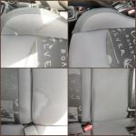 Dégraissage sièges AV et AR